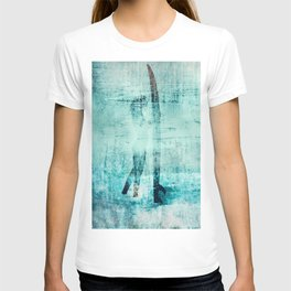 """abstract surfer #2"" T-shirt"