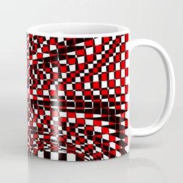 black white red Coffee Mug
