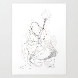Sha Man Man Art Print