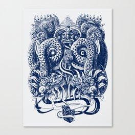 Tlaloc Canvas Print