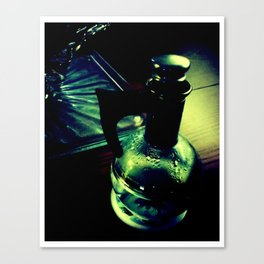 Retro Water. Canvas Print