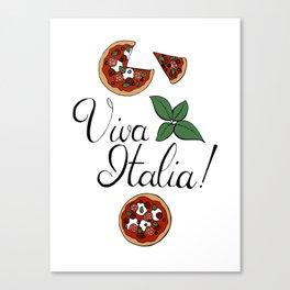 Viva Italia! Canvas Print