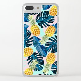 Tropical and exotic pattern painting III Clear iPhone Case