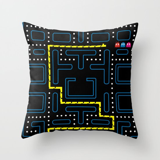 Hungry & Lost Throw Pillow