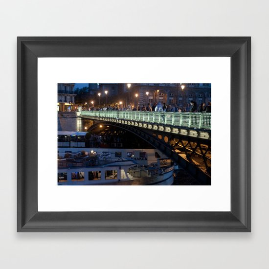 Paris by Night III Framed Art Print
