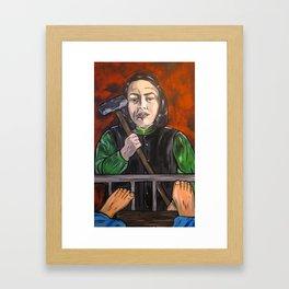 Misery Framed Art Print