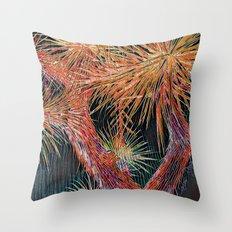 Joshua Tree Mosaic by CREYES Throw Pillow