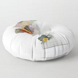 Inherit The Earth Floor Pillow