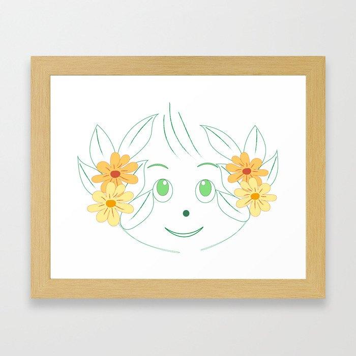 little pixie Framed Art Print