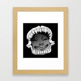 Shark Snark Framed Art Print