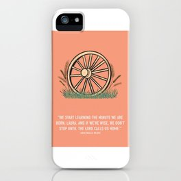 Little House On The Praire iPhone Case