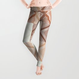 Mudcloth Tiles 02 #society6 #pattern Leggings