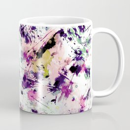 Ecstatic Wildflowers #2, Cotton Candy colorway Coffee Mug