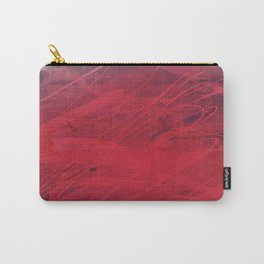 2x red spot Abstract ( Limited 01 / 50#) Carry-All Pouch