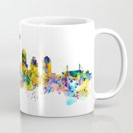 San Antonio Skyline Silhouette Coffee Mug
