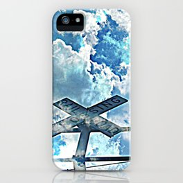 A Place In The Clouds iPhone Case