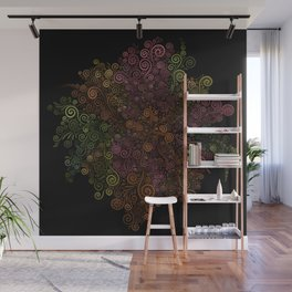 Rose is a rose is a rose.. Wall Mural