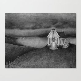 Hill House Canvas Print