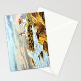 Stormy Weather Eastern Point Lighthouse Gloucester MA Stationery Cards
