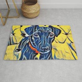 Pop Art Jack Russell Rug