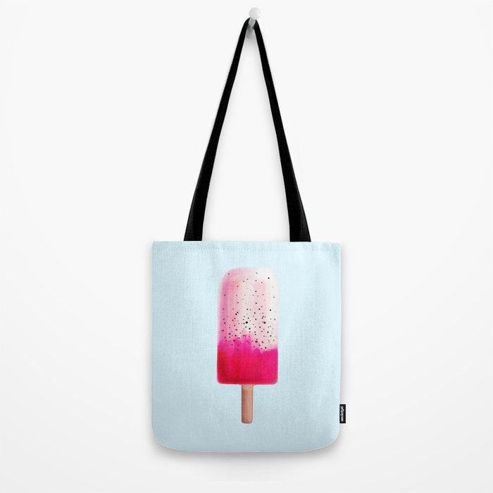 Dragon Fruit Popsicle Tote Bag
