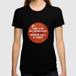 Mars Robot T-shirt