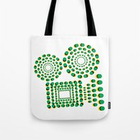 cinema Tote Bags featuring CINEMA by GAS_