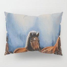 Water Horses Pillow Sham
