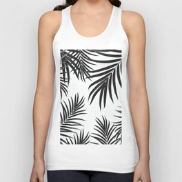 Palm Leaves Pattern Summer Vibes #2 #tropical #decor #art #society6 Unisex Tank Top
