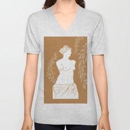 Venus De Milo Unisex V-Neck