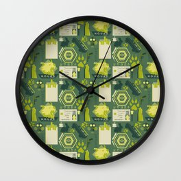 The Hounds of Baskerville Wall Clock