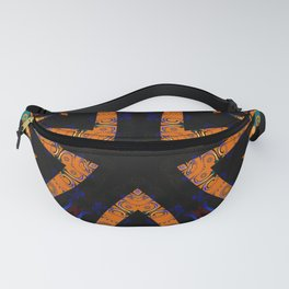Tribal Geometric Fanny Pack