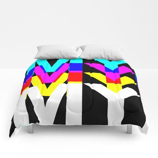 CMYK ON BK Comforters