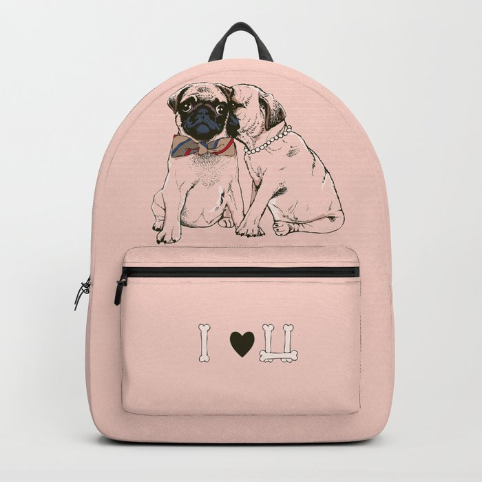 The Love of Pug Backpack