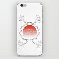 bond iPhone & iPod Skins featuring bond by Yukaco Tanaka