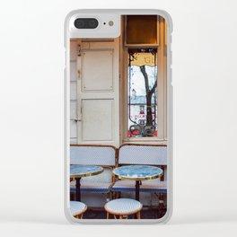 Montmartre details. Clear iPhone Case