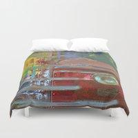 car Duvet Covers featuring Car by Fernando Vieira