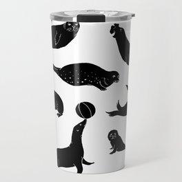 Sealhouettes Travel Mug