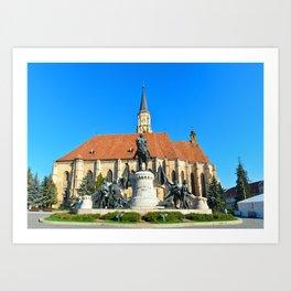 cluj napoca church Art Print