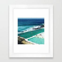 Bondi living Framed Art Print