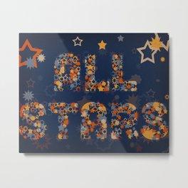All Stars Metal Print