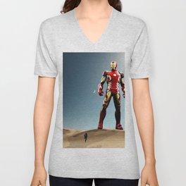 Iron Giant Unisex V-Neck