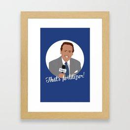 Vin Scully Framed Art Print