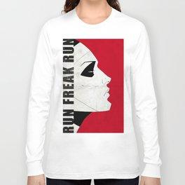 Run Freak Run - Red Long Sleeve T-shirt
