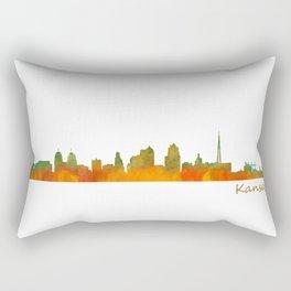 Kansas City Skyline Hq v1 Rectangular Pillow