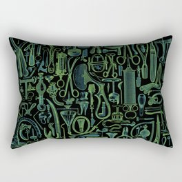 Medical Condition VINTAGE FRANKENSTEIN / Take two of these and call me in the morning Rectangular Pillow