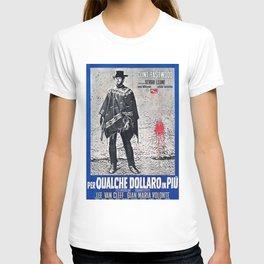 Vintage Italian Film Poster - Spaghetti Western T-shirt