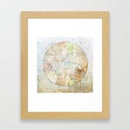 Hidden Planet Framed Art Print