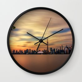Toronto's Golden Hour Wall Clock