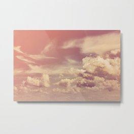 The Neverending Metal Print